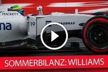 Formel 1 - Die F1-Sommerbilanz: Williams