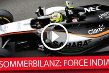 Formel 1 - Die F1-Sommerbilanz: Force India