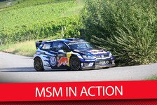 WRC - Video: MSM in Action: Onboard im WRC Rallye-Boliden von VW