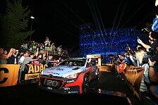 WRC - Video: Hyundai dankt den Fans bei der Rallye Deutschland