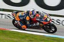 Moto3 - Binder bezwingt Bastianini auf heimischen Boden