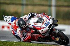 MotoGP - Redding Schnellster im Regen-Warm-Up