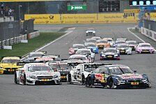 DTM - Crash-Gr��e aus Moskau: Video-Highlights Moskau: Unf�lle und Girls