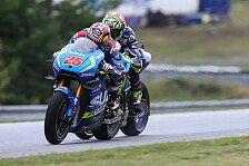 MotoGP - Suzuki in Silverstone: Endlich auch im Nassen gut