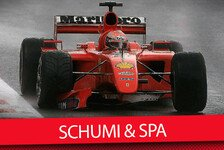 Formel 1 - Video: Best of Michael Schumacher in Spa