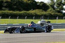 Formel E - Testfahrten in Donington