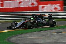 Force India beim Belgien GP: Am Freitag in Spa schneller als Ferrari