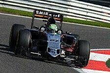 Startplatz sieben für Force India-Pilot Nico Hülkenberg beim Belgien GP in Spa