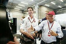 Formel 1, Wolff trauert um Lauda: Freund und Leitstern verloren