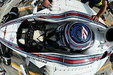 Formel 1 - Bottas' Gurte lockern sich in Singapur: Gurt-Probleme stellen Williams vor R�tsel