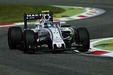 Formel 1 - Bottas greift in Monza in die Trickkiste