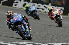MotoGP - Suzuki in Misano: Vinales will Hochform mitnehmen
