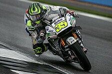 FP2 Silverstone: Crutchlow holt die Bestzeit, Marquez crasht doppelt