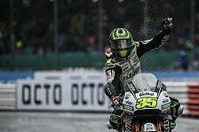 Crutchlow holt in Silverstone nach Mega-Fight mit Marquez und Rossi Platz zwei