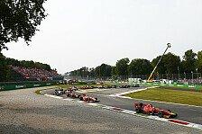 Formel 2 / GP3 Monza 2017: Der News-Ticker aus Italien