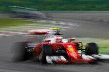 Formel 1 - Analyse: Deshalb stoppte Ferrari in Monza zwei Mal