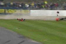 Bradl crasht in Silverstone mit Laverty: Keiner will schuld sein