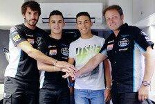 Canet und Bastianini ab 2017 Moto3-Teamkollegen