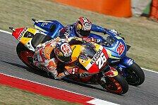 Dani Pedrosa schnappt Valentino Rossi den Heimsieg in Misano weg