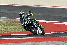 Valentino Rossi startet in Misano aus der ersten Reihe, hat aber noch Sorgen