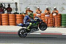 Rossi liegt im FP4 in Misano vorn, Pedrosa, Marquez und Lorenzo werden abgehängt