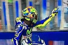 Valentino Rossi vs Aleix Espargaro: Mittelfinger und Beschimpfung!