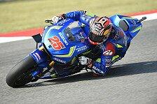 Schwieriges Rennen für Suzuki in Misano: Vinales Fünfter, Aleix Espargaro crasht