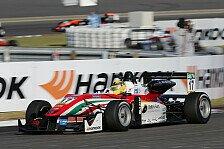 Formel 3 EM - Maximilian Günther mit Start/Ziel-Sieg