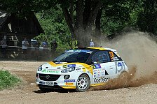 ADAC Opel Rallye Junior Team - Griebel kämpft um EM-Titel: Showdown in Lettland