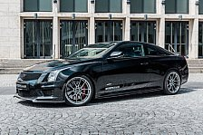 Der Cadillac ATS-V Coupé Twin Turbo Black Line von GeigerCars auf 508 PS getunt