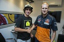 KTM sichert sich Rossi-Junior Niccolo Antonelli für das Moto3-Werksteam