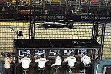 Formel 1 - Video: Formel 1, Mercedes erklärt den Kommandostand
