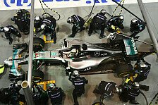 Formel 1 - Video: Singapur GP: DHL Fastest Pit Stop Award