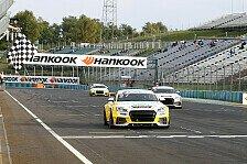 Motorsport - Dennis Marschall holt Doppelsieg in Budapest