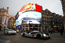 WEC - Bilder: London: Porsche-Showrun mit Mark Webber