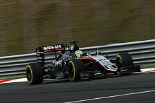 Formel 1 - Force India gl�nzt, Williams patzt im Malaysia-Qualifying: Duell um P4: Force India legt gegen Williams vor