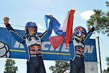 Sebastien Ogier durch Rallye-Spanien-Sieg 2016 vierfacher Weltmeister