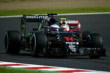 McLaren-Piloten Alonso und Button in Suzuka trotz Top-10 unzufrieden