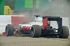 Formel 1 - Probleme in beiden Trainings: Haas in Japan: Defektserie geht im Training weiter