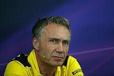 Renaults Formel-1-Technik-Chef geht - und wird nicht ersetzt