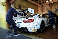 Mehr Sportwagen - Zanardi testet den BMW M6 GT3