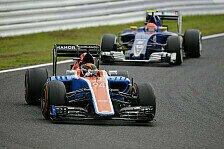 Manor zittert: Sauber-Endspurt im Millionen-Duell der Formel 1