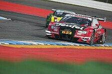 Miguel Molina gewann Rennen 1 in Hockenheim vor Wittmann und Mortara