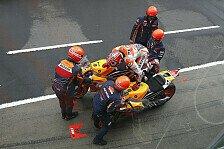 Chaos-Stopps bei Flag-to-Flag: MotoGP-Champion Marquez für einen Lollipop-Mann