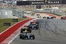 US GP: Hamilton dominiert - Rosberg Zweiter