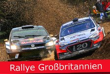 Ticker: News-Splitter Rallye Großbritannien 2016 in Wales