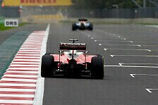 Formel 1 - Top-Teams eng beisammen: Longrun-Analyse: Graining-Festival in Mexiko