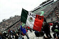 Formel 1 - Das 2. Training l�uft!: Live-Ticker Mexiko GP: Das Training in Mexico City