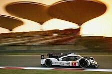 WEC Shanghai 2016: So liefen die Trainings mit Audi, Porsche und Toyota