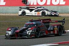 WEC Bahrain 2016: Audi erringt emotionalen letzten Sieg, Porsche die WM